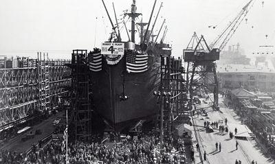 O incrível navio construído em apenas quatro dias