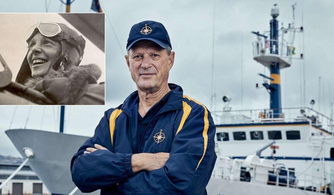 Encontrar o avião de Amelia Earhart no fundo do mar: a nova missão do homem que achou o Titanic
