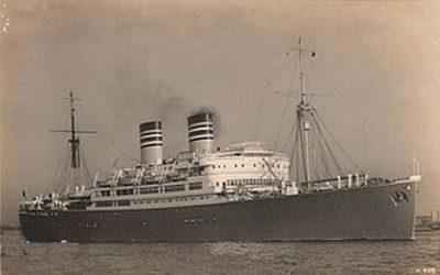 O navio que decidiu o destino dos seus tripulantes