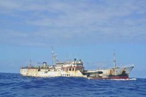 O dia que um barco chinês tentou afundar um pesqueiro brasileiro e ficou por isso mesmo