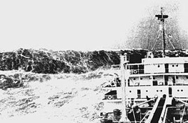 """As apavorantes """"ondas loucas"""" oceânicas"""
