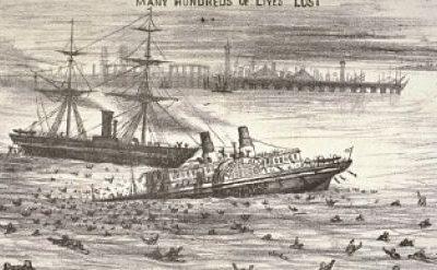 Abalroados, afogados e contaminados! O drama de um naufrágio que deixou um grande legado