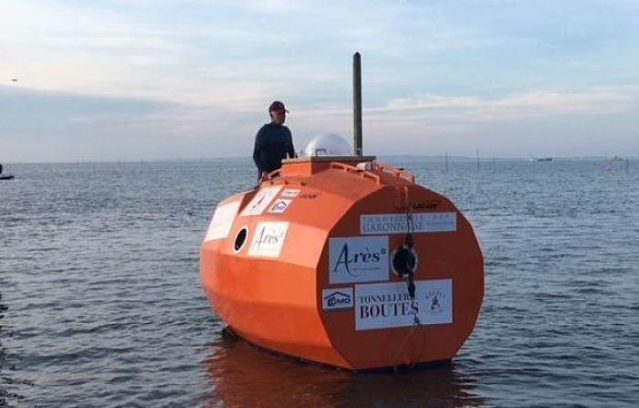 Cruzar o Pacífico: o novo objetivo do homem que atravessou o Atlântico à deriva, dentro de um barril