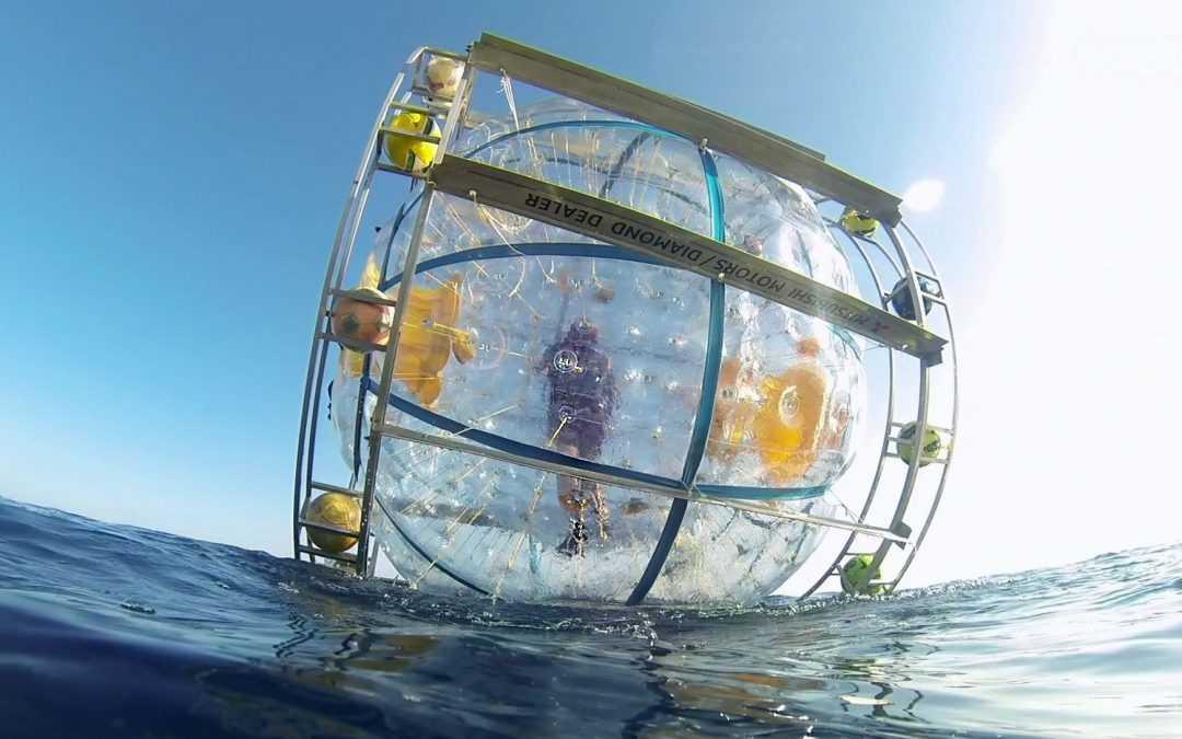O Iraniano quer tentar, de novo, atravessar o mar dentro de uma bolha