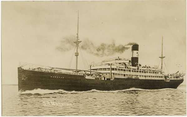 O navio que a onda engoliu