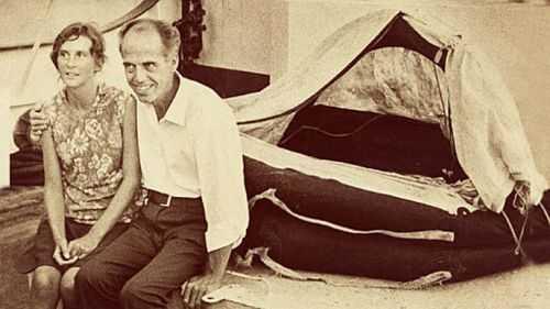O incrível casal que o mar não conseguiu levar