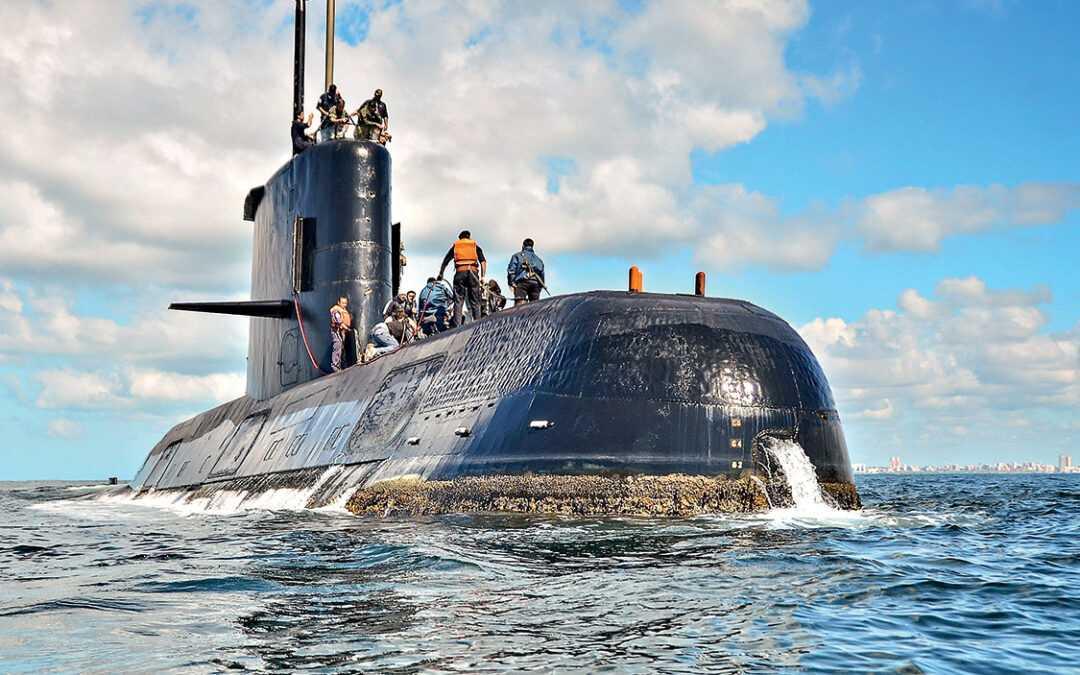 O submarino argentino que o mar engoliu