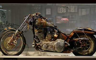 A moto que cruzou um oceano navegando