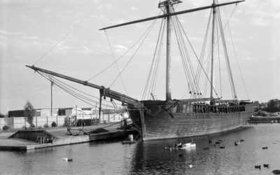 O histórico barco que acabou quando foi resgatado